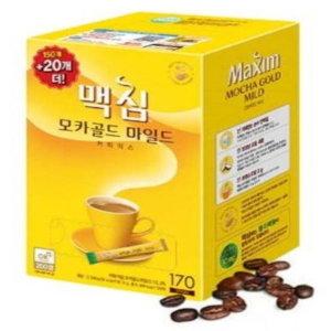 맥심 모카골드 마일드 170개입 무료배송 + 할인