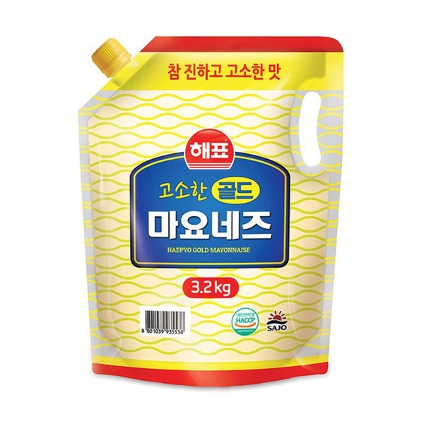 (유통기한 임박상품)사조 마요네즈 3.2kg