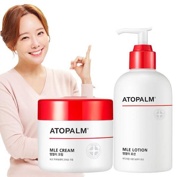 아토팜 대용량세트(크림+로션) +크림90ml증정 브랜드딜