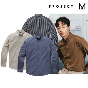 프로젝트M  데일리룩 추천  남성 인기셔츠 3종 특가