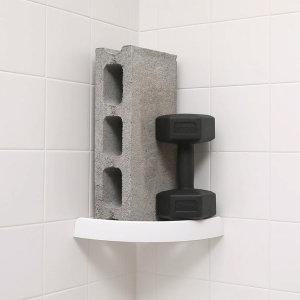 리빙톤 2+2(총4개) 오션 버티고 선반 욕실 주방 코너