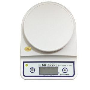 경인 kb-1000(0.5g) 주방저울 전자저울