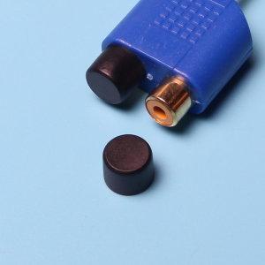 오디오 비디오 TV 모니터등 RCA AV단자 먼지보호 마개