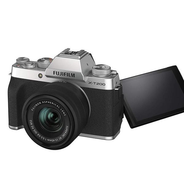 후지필름 X-T200 15-45 kit 카메라