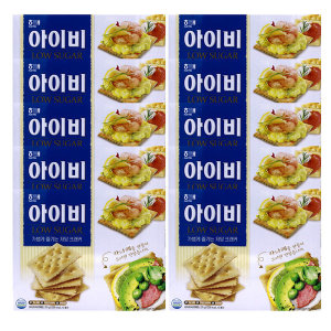 아이비 저당 크래커 270gx10개 과자 간식 안주 비스켓