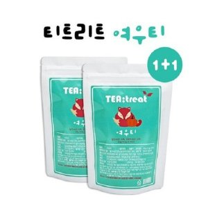 티트리트  여우티 1+1 / 40티백 무료배송 + 보틀 500ml