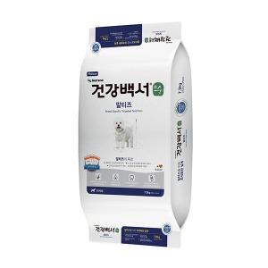 뉴트리나 건강백서 순 말티즈 7.2kg(300gX24ea)