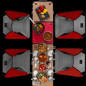 아이캠퍼 아이옥스 AIOKS 키친시스템/캠핑테이블/신형