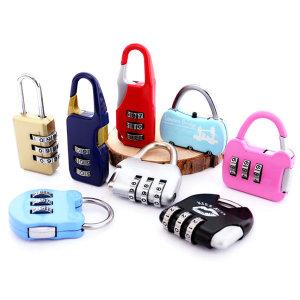 [케이필] 미니 자물쇠 1200 / 번호 키 열쇠 캐리어 여행용 패션