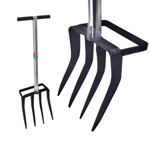 양날 로타리삽 지지대 도라지창 - 삽쇠 삼지창 밭갈이