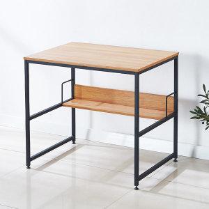 언더랙 컴퓨터책상 1인 노트북 테이블 책꽂이 1200