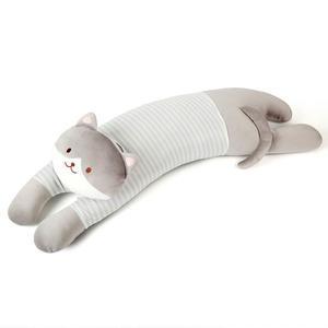 루마인 홈 동물 바디 필로우-A(고양이-그레이)