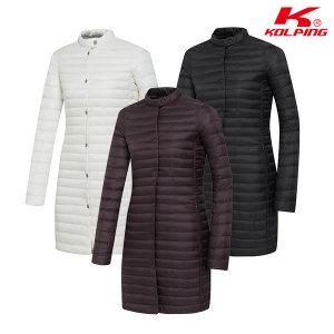 콜핑 콜핑 여성 겨울 경량 롱자켓 베샴(여) KPJ6681W
