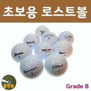 골프 공 로스트볼 유명백색 B급100개외 우수 샵