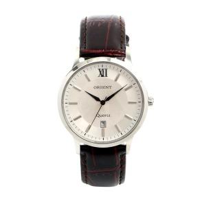 오리엔트 국산 남성 모던 가죽밴드 손목시계 OT560MA