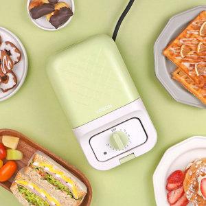 스핀오프 샌드위치 와플 도넛 메이커 VB-SM203G 그린