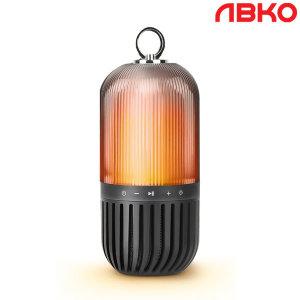 앱코 BSL110 블루투스스피커 캠핑 무드등 랜턴 블랙