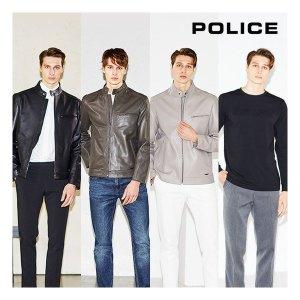 폴리스 21SS 남성 양가죽 재킷 티셔츠 세트