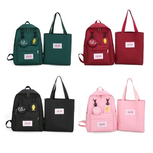 초등 중등 학생 책가방 세트 필통 보조가방 BB-221