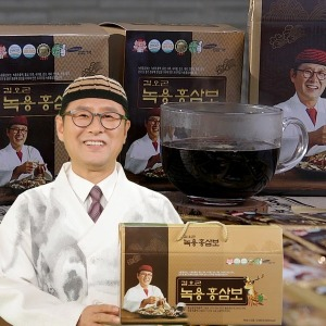 HACCP  김오곤원장 녹용 홍삼보 60포+침향단 증정