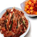 빛 국산 겉절이2kg + 깍두기1kg/배추김치/반찬/먹보야