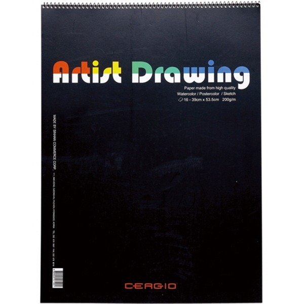 스케치북(4절 16매 Drawing 39 53.5cm)