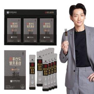 초월홍삼 홍산도 발효홍삼 30포 부모님 생신 환갑 선물