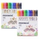 모나미 모니주 사인펜 12색