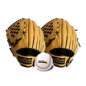 야구글러브 11.5+12.5+야구공/ 좌투 우투 캐치볼 세트