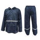 신사우의 상하 분리형 투피스 레인코트 우의 비옷