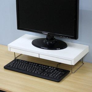 서랍식 모니터받침대/노트북 PC받침대 모니터선반