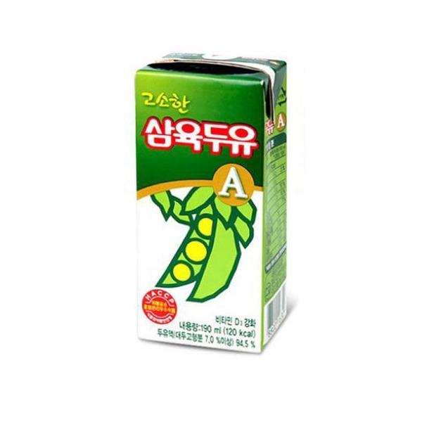삼육 고소한맛 A 두유 190ml 48팩