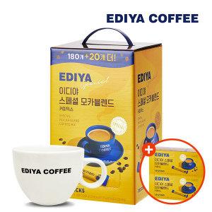 이디야 스페셜 모카블랜드 커피믹스 200T (40T+머그컵)
