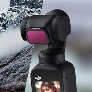 DJI 오즈모 포켓2 CPL UV ND 필터 4종 총 6팩 세트