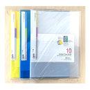 화일 파일 A4 컬러 클리어화일 10매 문서보관 F428-7