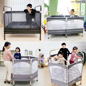 코지인디오 직사각 / 120 유아 안전망 트램폴린 방방이