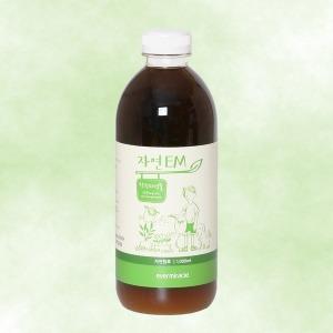 자연EM 활성액 1리터/이엠 발효액 용액 탈취제 효소