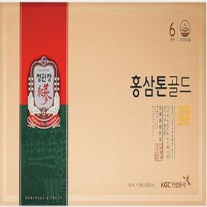 정관장 홍삼톤 골드 40ml 30포/정품케이스/익일발송