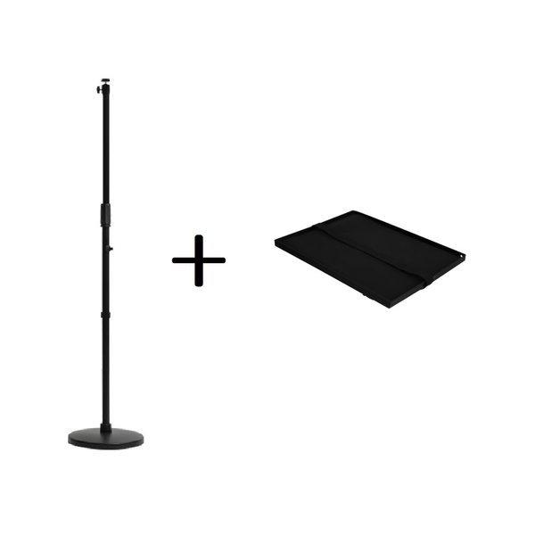 이지빔 일자형 빔프로젝터 거치대 B + 트레이 세트