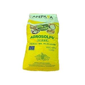 아그로솔포 15kg 입상 유황 99% 비료 입제 감자 고추