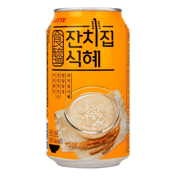 롯데 잔치집식혜 (340ml x 24캔)전통음료