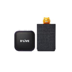 딜라이브 H5 플러스+카카오미니C AI스피커 셋톱박스 탑
