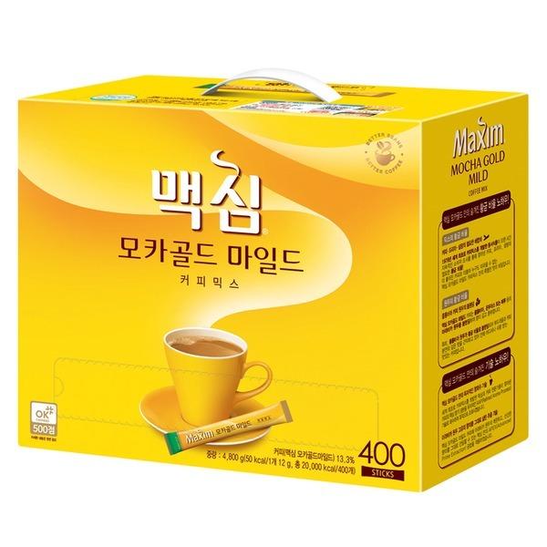 모카골드 커피믹스 400T 마일드+4000원중복쿠폰