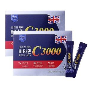 라이프케어 비타민C 3000 200포 메가도스/영국산비타민
