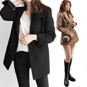 여성 야상 사파리 자켓 원피스 스커트