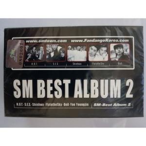 SM 베스트 앨범 (SM Best Album 2) 2테이프 미개봉 보아 H.O.T 신화 S.E.S 유영진 등 참여
