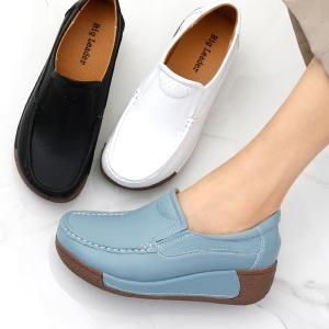 키높이 통굽 발편한 컴포트 로퍼 단화 여성 신발