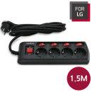 FOR LG LGA-MT415 개별스위치 멀티탭 4구 1.5M 절전형