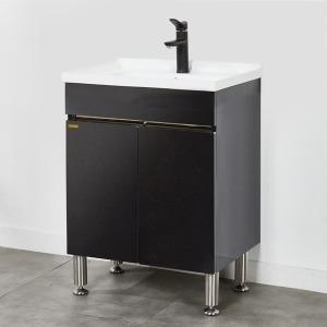 행사특가 / 라비앙  욕실 하부장+세면기 600mm 블랙