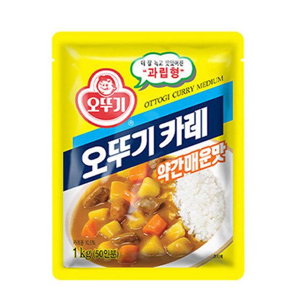 대용량1kg 분말 카레 짜장 백세 바몬드 /즉석/3분요리